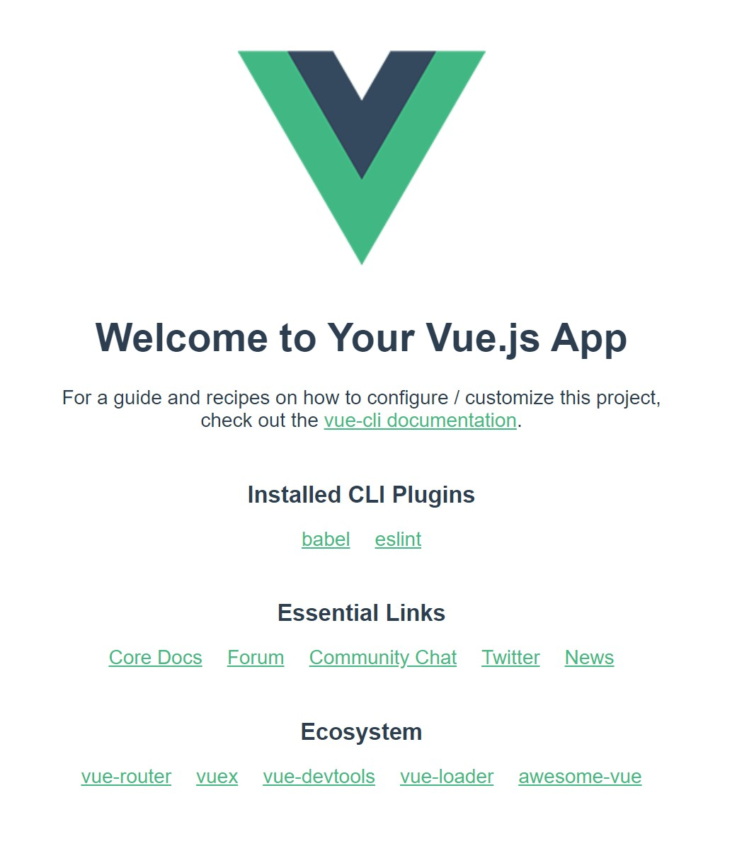The demo Vue app on our browser localhost