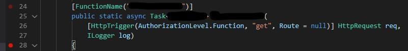 AuthorizationLevel.Function